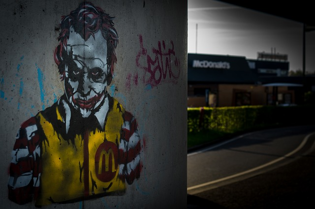 Graffita na stene, Joker.jpg